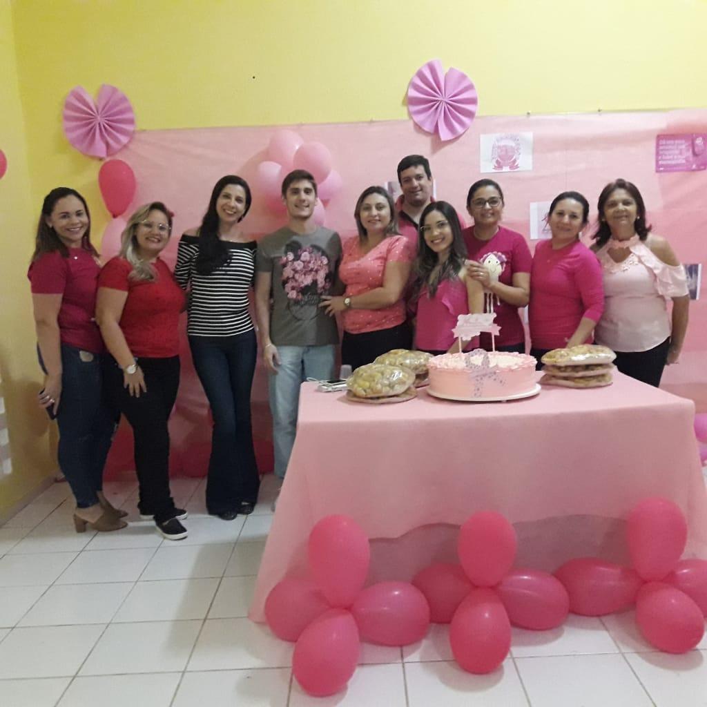 PREFEITURA MUNICIPAL DE SOSSEGO PROMOVE O ENCERRAMENTO DA CAMPANHA DO OUTUBRO ROSA.