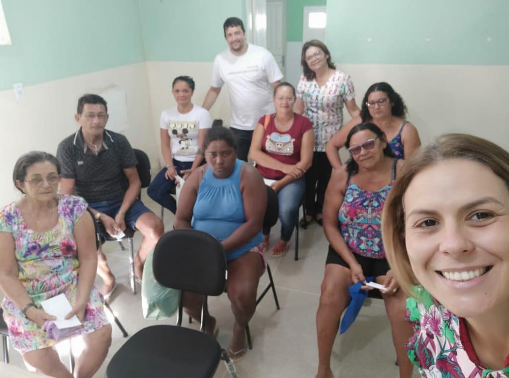 Secretaria de Saúde de Sossego realiza primeiro encontro do Grupo de Combate ao Tabagismo