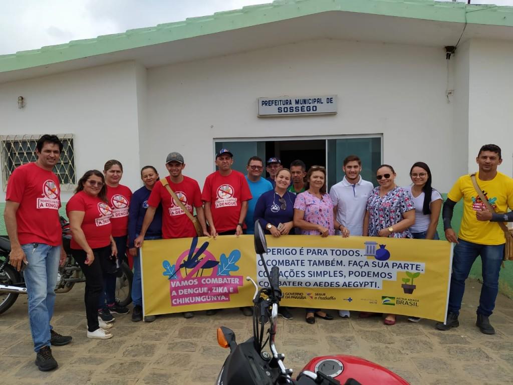 Saúde: NASF e UBS Pedro Vieira realizam mobilização contra a Dengue em Sossego